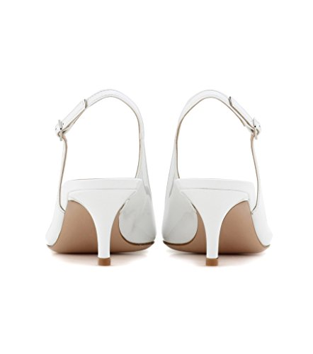 EDEFS - Zapatos con correa de tobillo Mujer Weiß