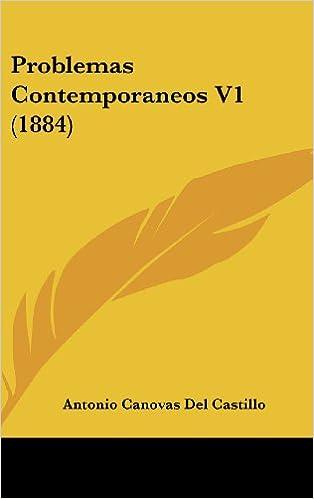 Los mejores foros de descarga de libros electrónicos. Problemas Contemporaneos V1 (1884) PDF DJVU 1104453428