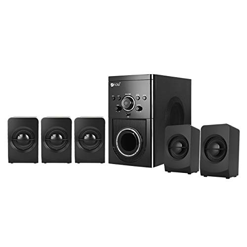Flow Buzz Bluetooth 5.1 Multimedia Speaker Home Theatre System  Multicolour