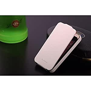 LCJ 360 Degree Rotatable Mat Lines Geniune Leather case with gift box for iphone 4/4S (Assorted Colors) , Red