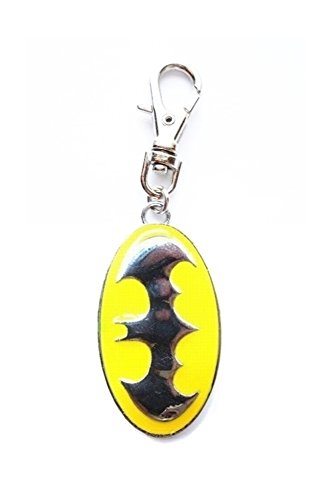 BATMAN SUPERHERO SYMBOL JEWELRY CHARM FOR YOUR PETS COLLAR, PURSE, LEASH, JOB LANYARD, DIY PROJECT, ETC.