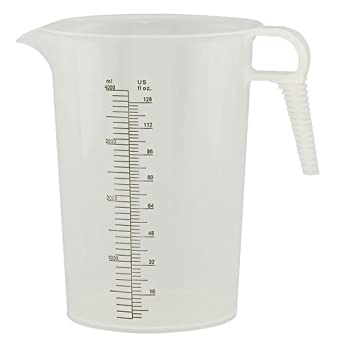 Amazon.com: 128 oz. Accu-Pour PP Measuring Pitcher (1 ...