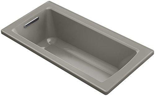 "KOHLER K-1946-K4 Drop-In Bath with Reversible Drain, 60"" x 30"", Cashmere"