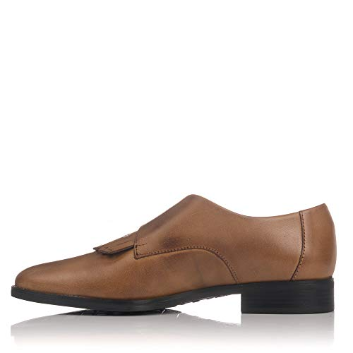 PITILLOS Zapato Hebilla Cuero Piel 5371 Mujer OTOxwq0r