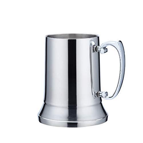 Taza de café Taza de cerveza de acero inoxidable de pared ...