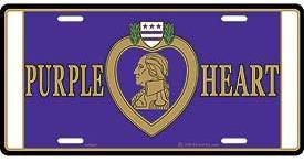 Purple-Heart-License-Plate
