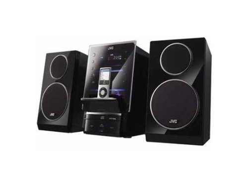 JVC UX-LP5 CD Micro Component System with iPod Flip Dock, 70 Watts