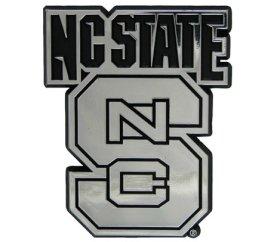 North Carolina State Wolfpack Car - NCAA North Carolina State Wolfpack Chrome Automobile Emblem