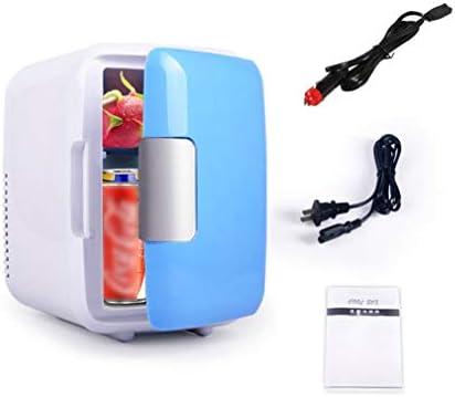 カー冷蔵庫、ミニポータブル小型冷蔵庫4 L冷凍庫ホットとコールドクーラー冷凍庫アイスボックス