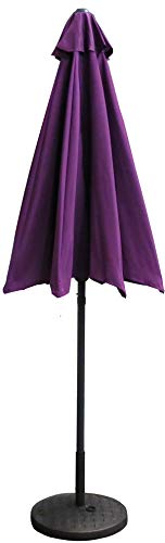Cheap VMI 9-Feet Adjustable Patio Umbrella with Aluminum Pole, Purple