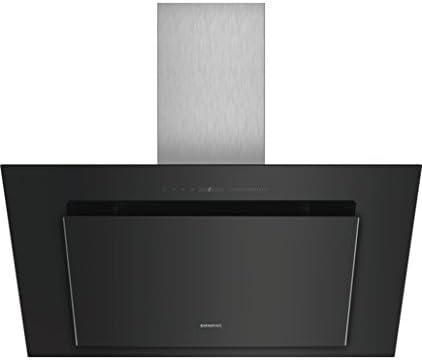Siemens LC98KLV60 Wall-mounted cooker hood Negro, Acero inoxidable 840m³/h A+ - Campana (840 m³/h, Canalizado/Recirculación, A, A, B, 55 dB): Amazon.es: Hogar