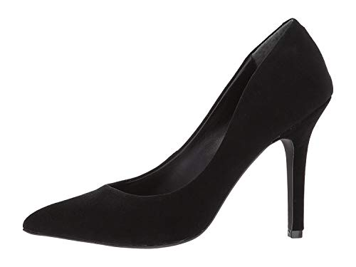 CHARLES BY CHARLES DAVID Womens Maxx Pointed Toe Classic, Black Suede, Size 6.5