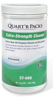 Extra-strength Cleaner Packets Makes 80 Quarts for All-purpose Cleaning