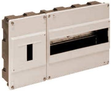 Solera 680 - Caja para ICP y distribución. ICP de 1 a 4 elementos y hasta 40A. 348x188x55.Marfil. Empotrar.: Amazon ...