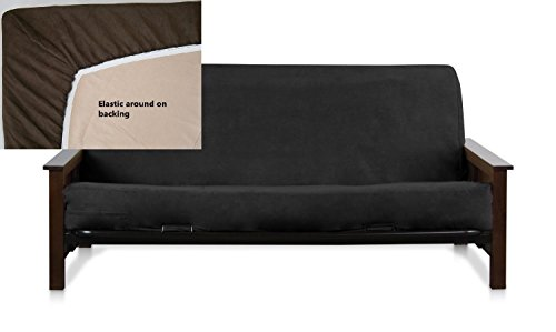 futon cover black - 7