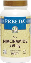 Freeda Kosher Niacinamide 250 Mg. – 250 TAB Review