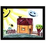RAS Kids Art Frame - Boxed Style Wide Frame Edge Construction...