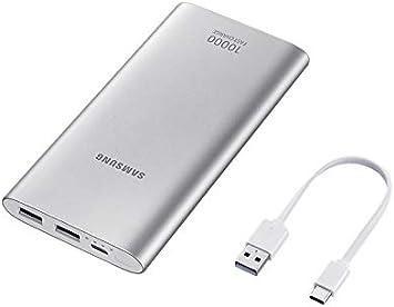 SAMSUNG EB-P1100C batería Externa Plata Polímero de Litio 10000 mAh: Amazon.es: Electrónica
