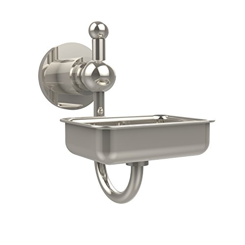 (Allied Brass AP-32-PNI Astor Place Wall Mounted Soap Dish Polished Nickel)