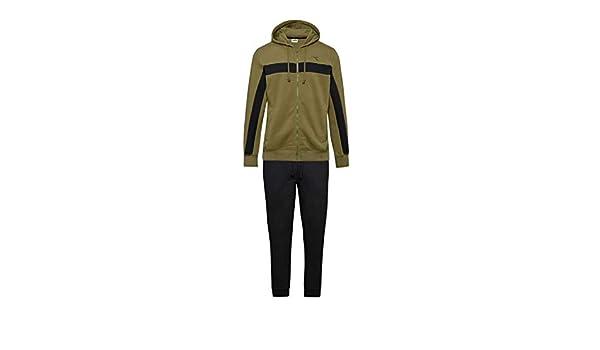 Diadora Sport Men 102173574 HD FZ Brushed FL Cuff Suit - Verde ...