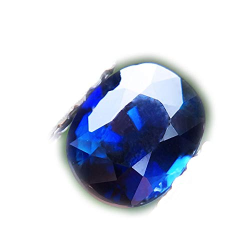 Lovemom 0.67ct Natural Oval Unheated Blue Sapphire Madagascar #W by Lovemom (Image #5)