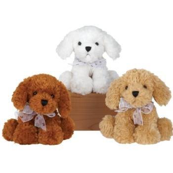 """7"""""""" Plush Sitting Bean Bag Dog Case Pack 24 , Kid ,Toy , Hobbie , Nice Gift from DDI"""