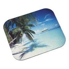 - Mouse Pad Tropical Beach 9x8in Tropical Beach