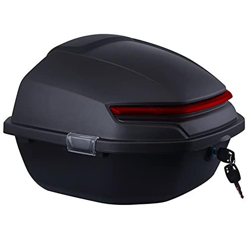 JKGHK Topcase Motorrad, Roller Topcase Shad, Helm Gepäckaufbewahrung, Mit Weicher Rückenlehne Und Nachtwarnlicht…