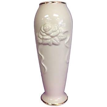 Amazon Com Lenox Rose Blossom Vase Home Amp Kitchen