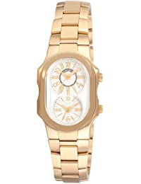 Women's 1GPMWGSSGP Signature Yellow Goldtone Silver Dial Watch