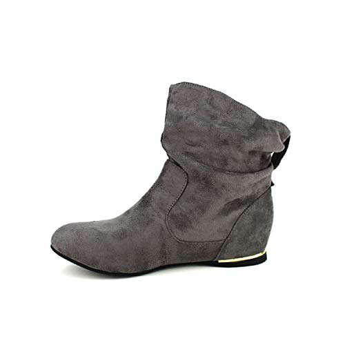 Cendriyon Chaussures Bello Star Moda Grises Femme Gris Bottines rTq7Hr