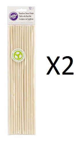 Bamboo Dowel Rods 12/Pkg-12