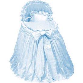 Babykidsbargains Prima Donna Blue Liner Skirt and Hood, 16'' x 32''