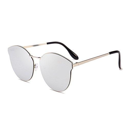 sol Gafas de Retro Polarizadas sol Mujer 06 de Redondas Gafas Fossen Hombres wgUgO