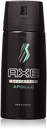 - AXE Deodorant Body Spray 150 Ml / 5.07 Oz (Pack of 6) (150 Ml / 5.07 Oz (Pack of 6), Apollo)