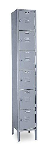 - Lyon Box Locker, Unassembled, 12 In. W, 12 In. D - DD5332