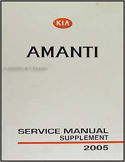 service manual 2007 kia amanti repair manual free. Black Bedroom Furniture Sets. Home Design Ideas