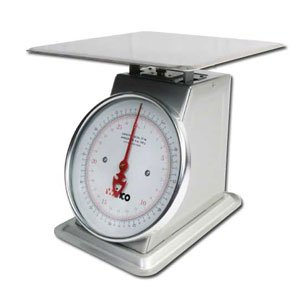 Winco SCAL-9100 100-Pound/45.45kg Scale with 9-Inch Dial