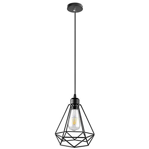 Lightess Hanging Pendant Lights Industrial Edison Barn