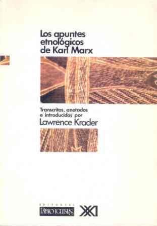 Descargar Libro Los Apuntes Etnológicos De Karl Marx