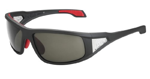 (Bolle Diablo Sunglasses (Polarized TNS, Satin Dark Gray))