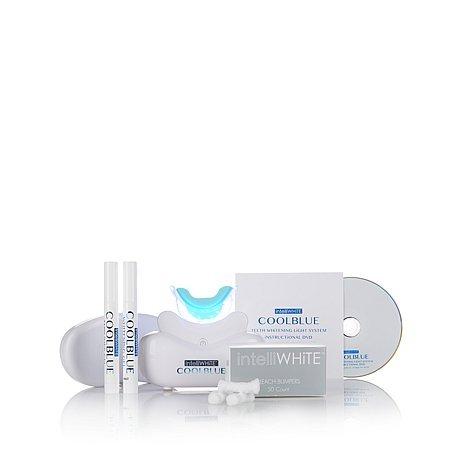 IntelliWHiTE CoolBlue Teeth Whitening and Maintenance Kit ~ Whiten & Brighten