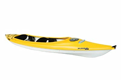 Pelican Pursuit 140T Yellow/White Kayak