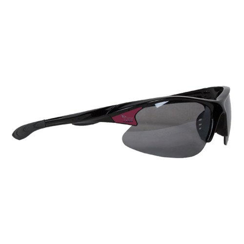 Lee University Mens Black Sporty Sunglasses 'Official Logo' by CollegeFanGear
