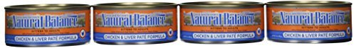 Dick Van Patten's Natural Balance Chicken and Liver Pate Canned Cat Food (Case of 24), 5.5 oz. by Dick Van Patten's Natural BalanceÃ'Â by Dick Van Patten's Natural BalanceÃ'®