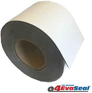 4inch Width x 16feet Length HighFree Butyl Seal Tape Strong Adhesive RV Roof Flashing Repair Tape Stop Leakage Seal Tape with Aluminum Foil Cover for Camping Mobile Home Window Repair