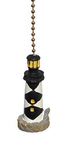 Cape-Lookout-LIGHTHOUSE-nautical-CEILING-FAN-PULL-chain