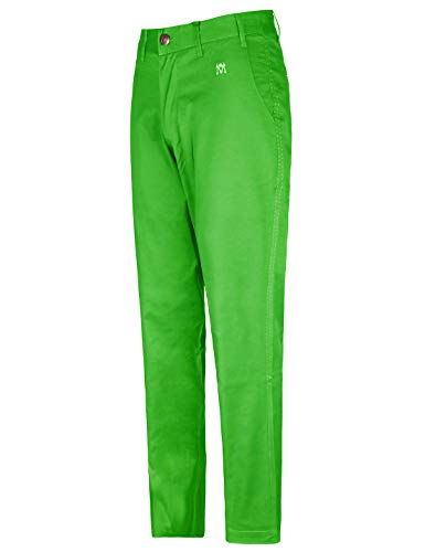 Bakery Men's Golf Pants Tech Stretch Straight Leg Relaxed Fit Tailored Tall Size 36Wx33L Green (Best Slim Fit Golf Pants)