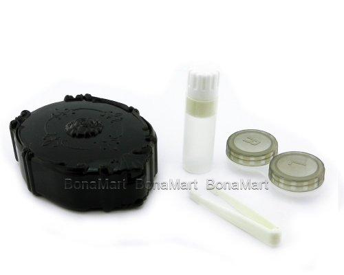 BONAMART ® Titulaire mignon Kit Voyage Contactez-Lens Case Mirror Box