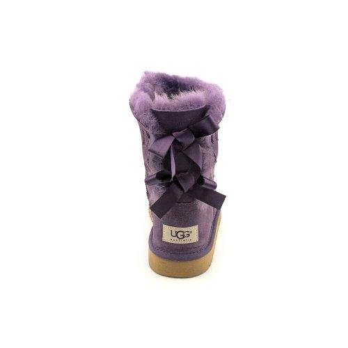 UGG Australia Girls Bailey Bow Shearling Boot Petunia Size 5 by UGG (Image #4)